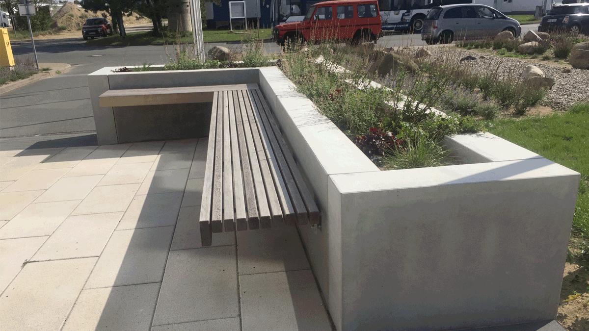 Garten-bank