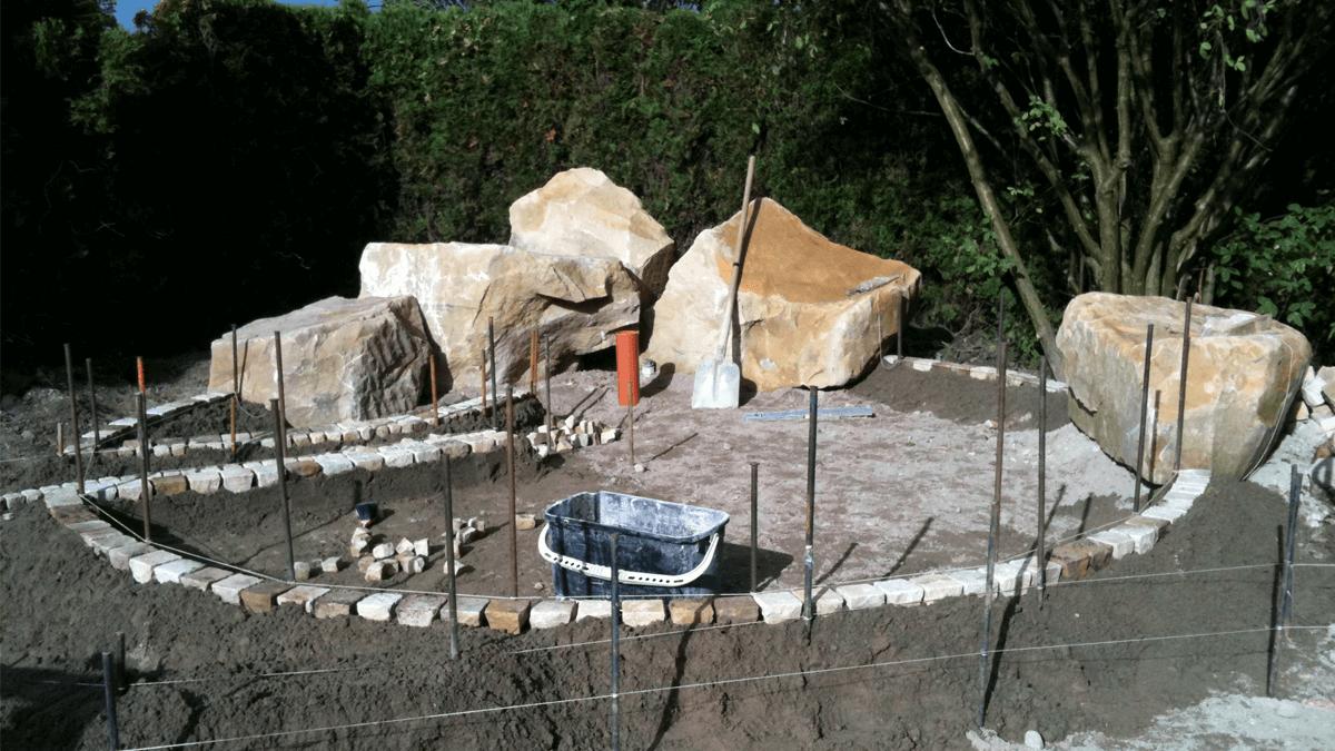 Garten-steine
