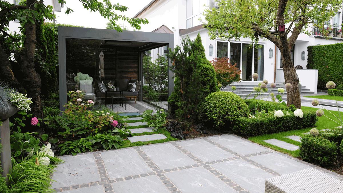 Gartenmöblierung