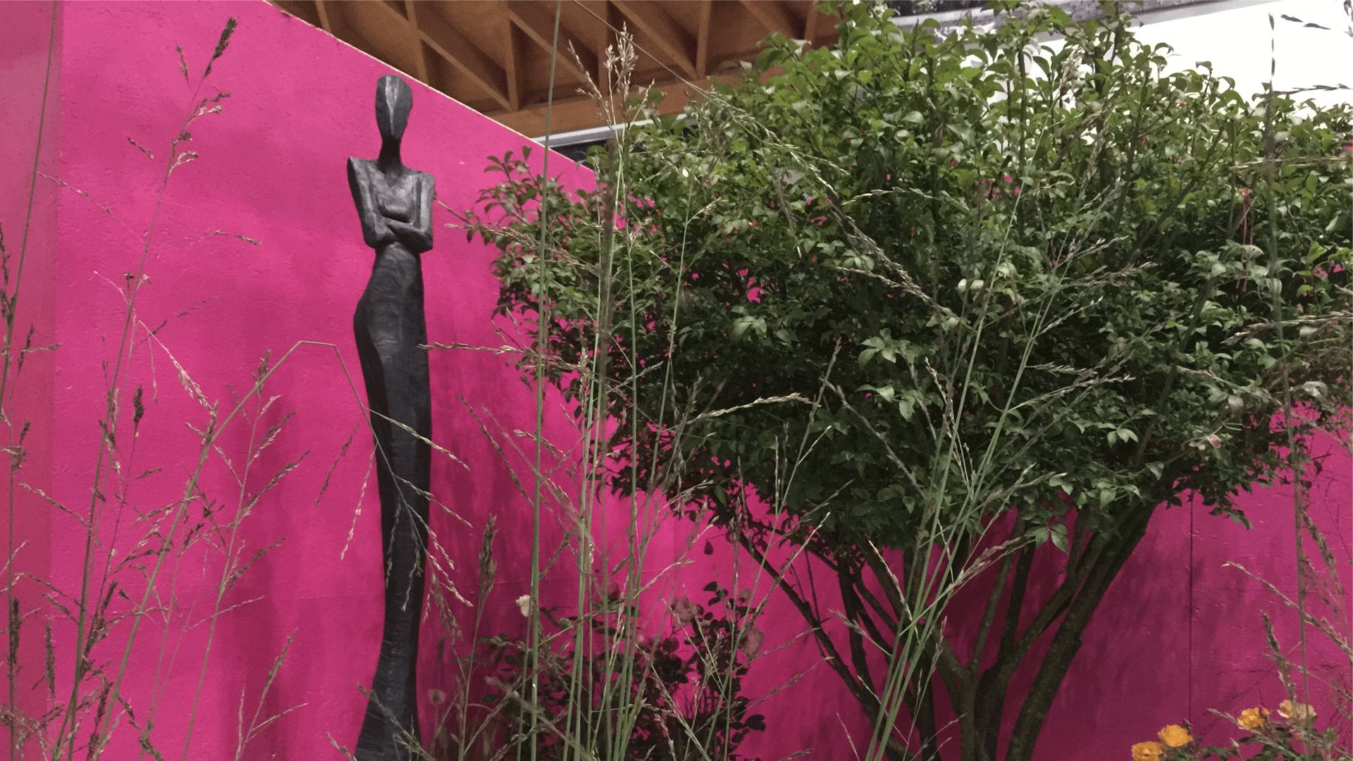 Gartenstatur