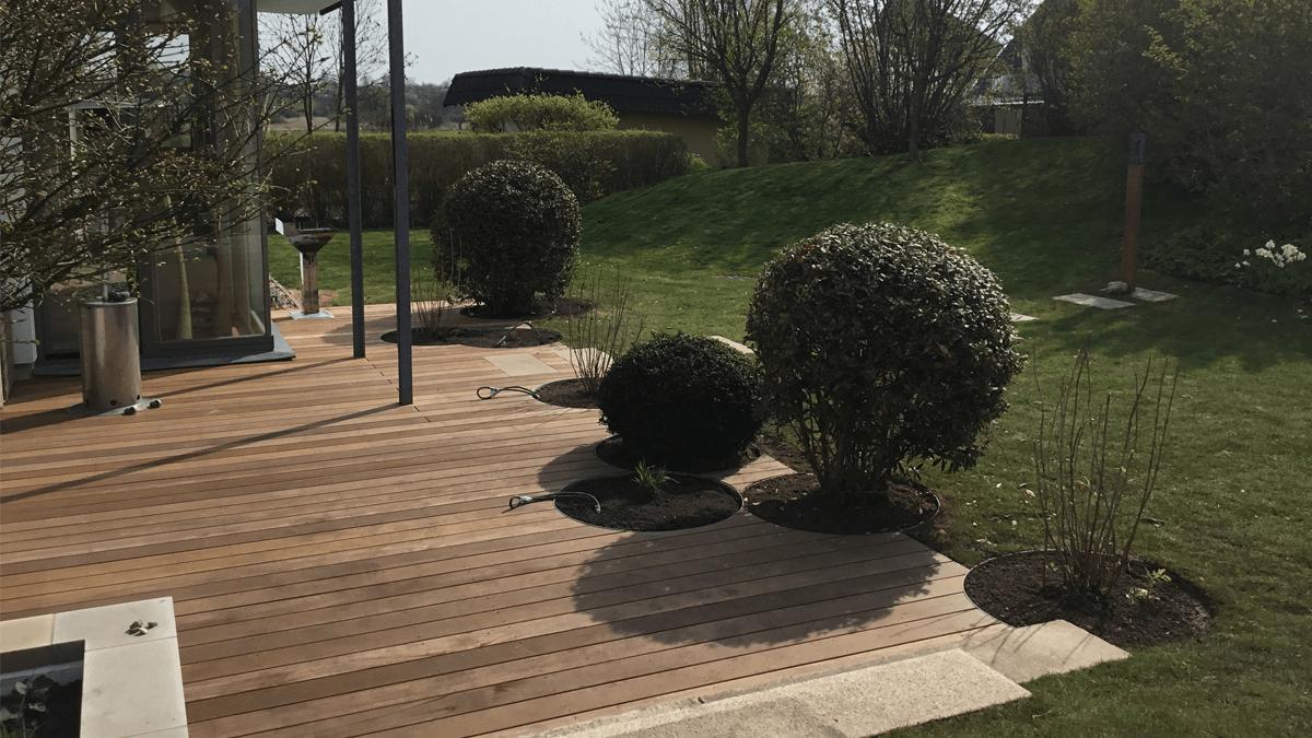 Pflanzung-in-Holzterrasse